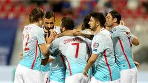 Turkey celebration vs Kosovo 06112017