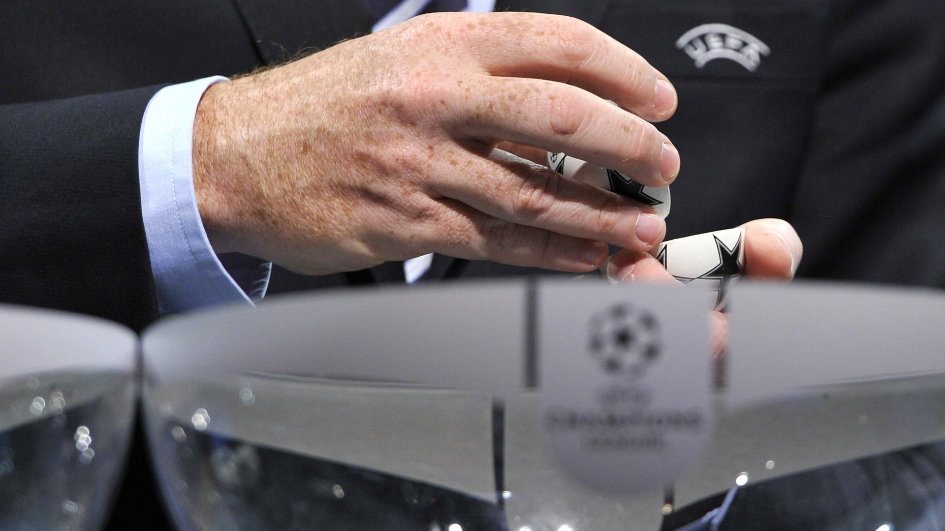 Champions League knockout stage 2019/20 draw