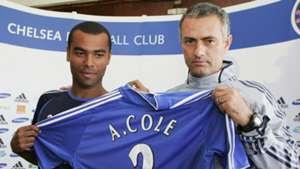 Ashley Cole Jose Mourinho