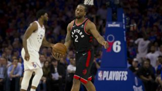 Kawhi Leonard is averaging 37.7 points per game in the Conference Semifinals.