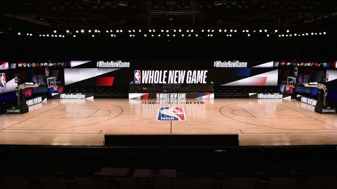 NBA Court Orlando