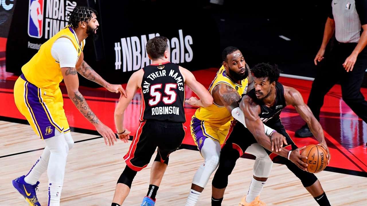 #LakersHeat Game 4