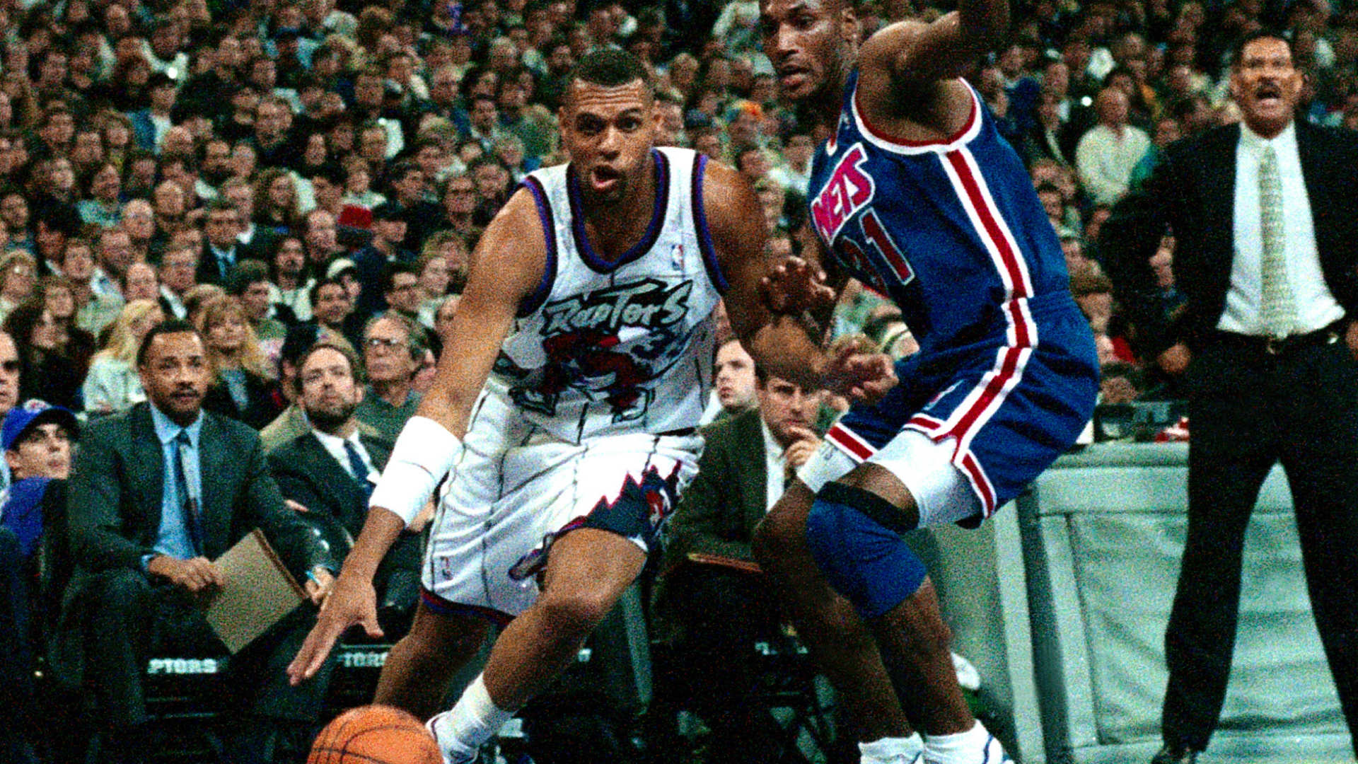 On This Date In 1995 The Toronto Raptors Play Their First