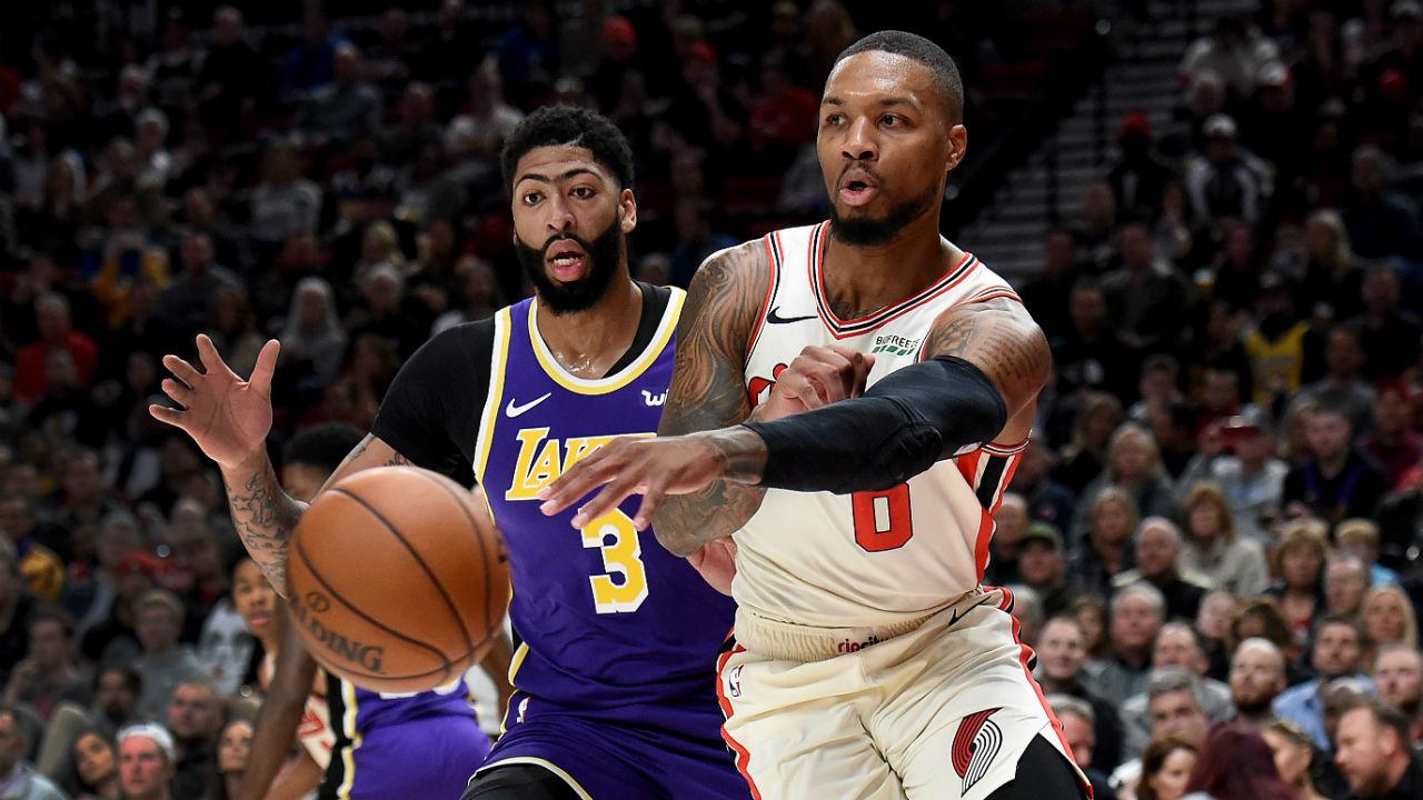 NBA Playoffs 2020: Los Angeles Lakers vs. Portland Trail ...