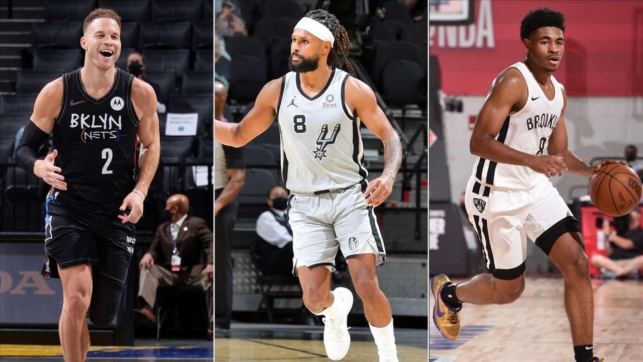 Blake Griffin, Patty Mills, Cam Thomas, Brooklyn Nets