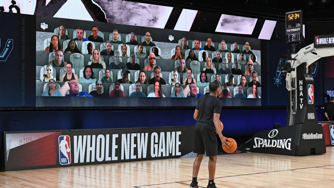 NBA Playoffs 2020: How you can become a virtual fan and support your team in the 'stands' | NBA.com India | The official site of the NBA