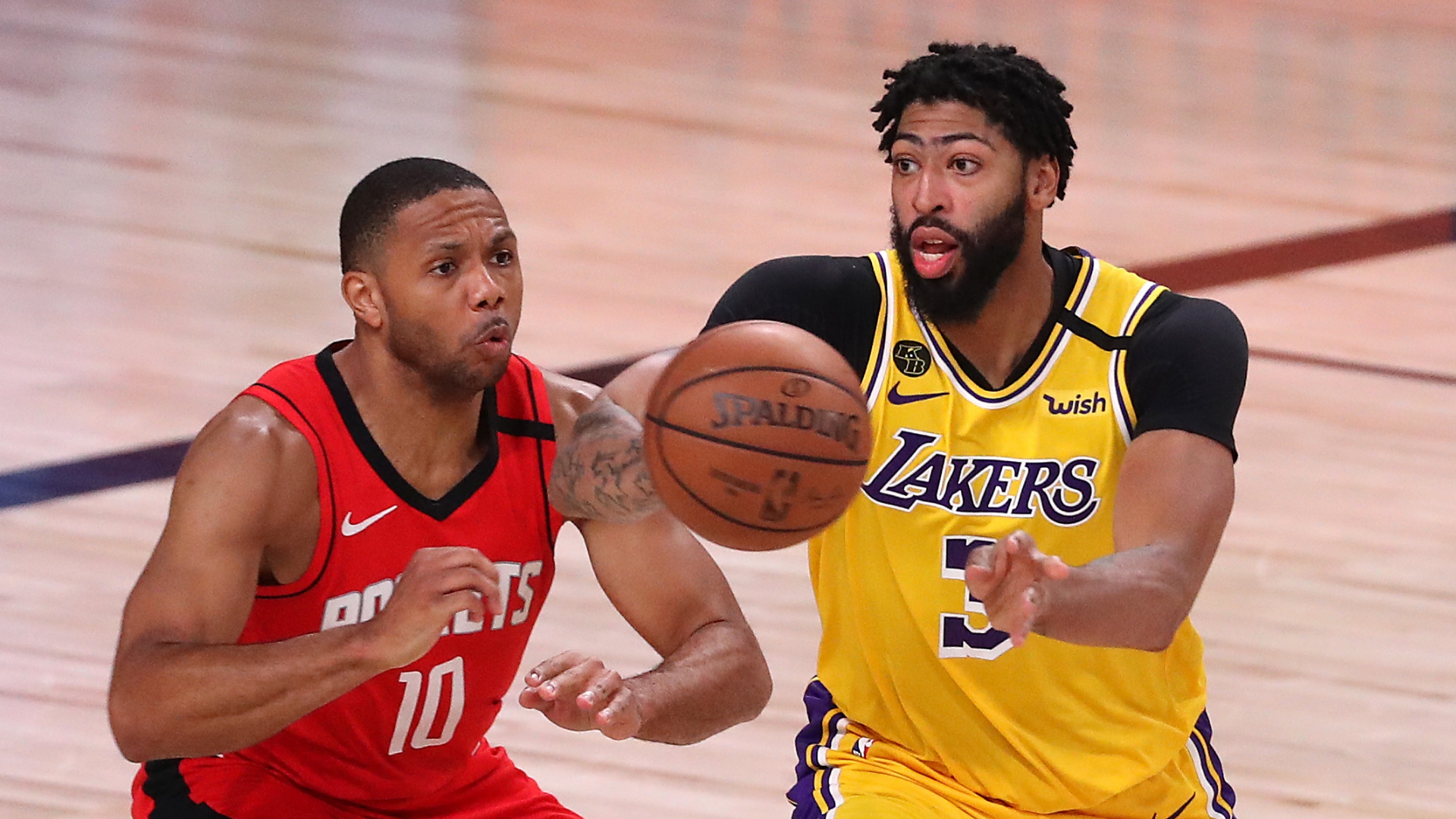 NBA Playoffs 2020: Los Angeles Lakers hold off Houston ...