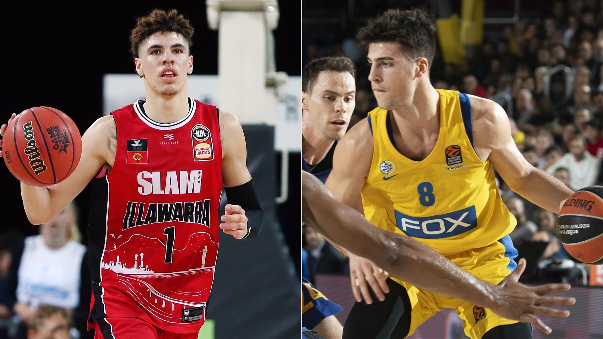 lamelo-ball-deni-avdija-getty-images