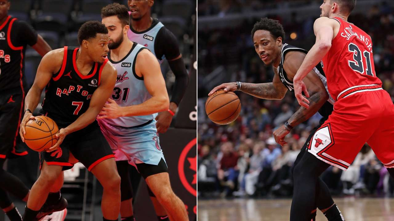 Kyle Lowry and DeMar DeRozan were two of the best players in the 2021 NBA free agent class