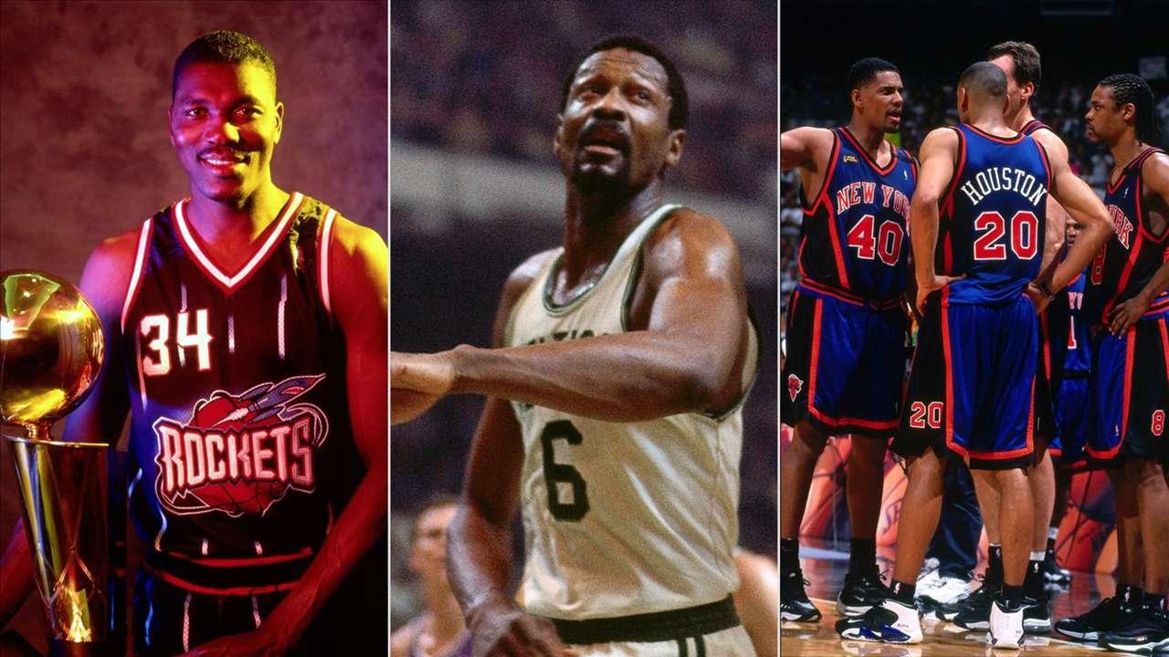 1995 Rockets, 1969 Celtics, and the 1999 Knicks
