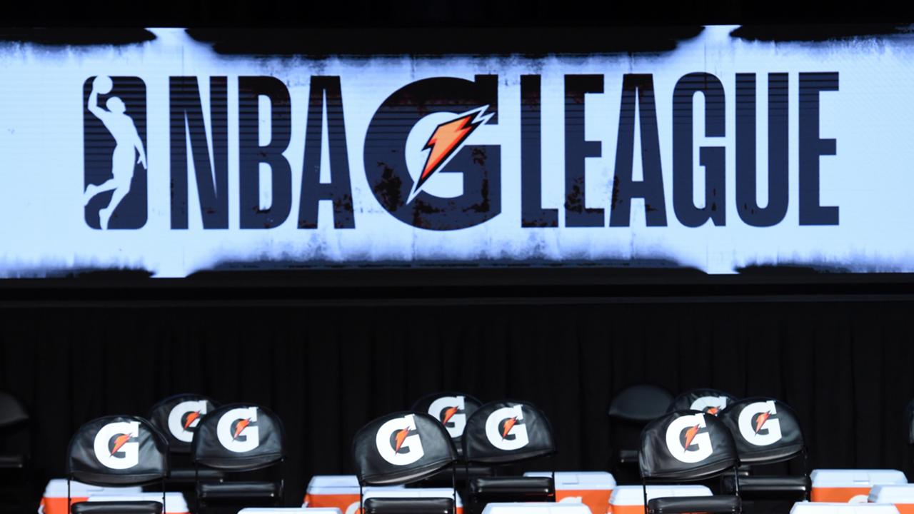NBA G League, signage at 2021 G League bubble