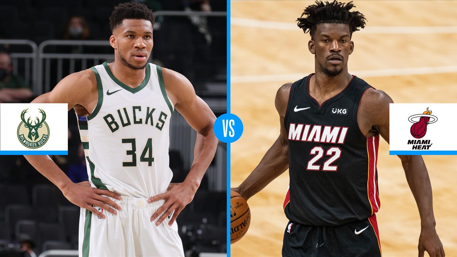 NBA Playoffs 2021: Milwaukee Bucks vs. Miami Heat series ...