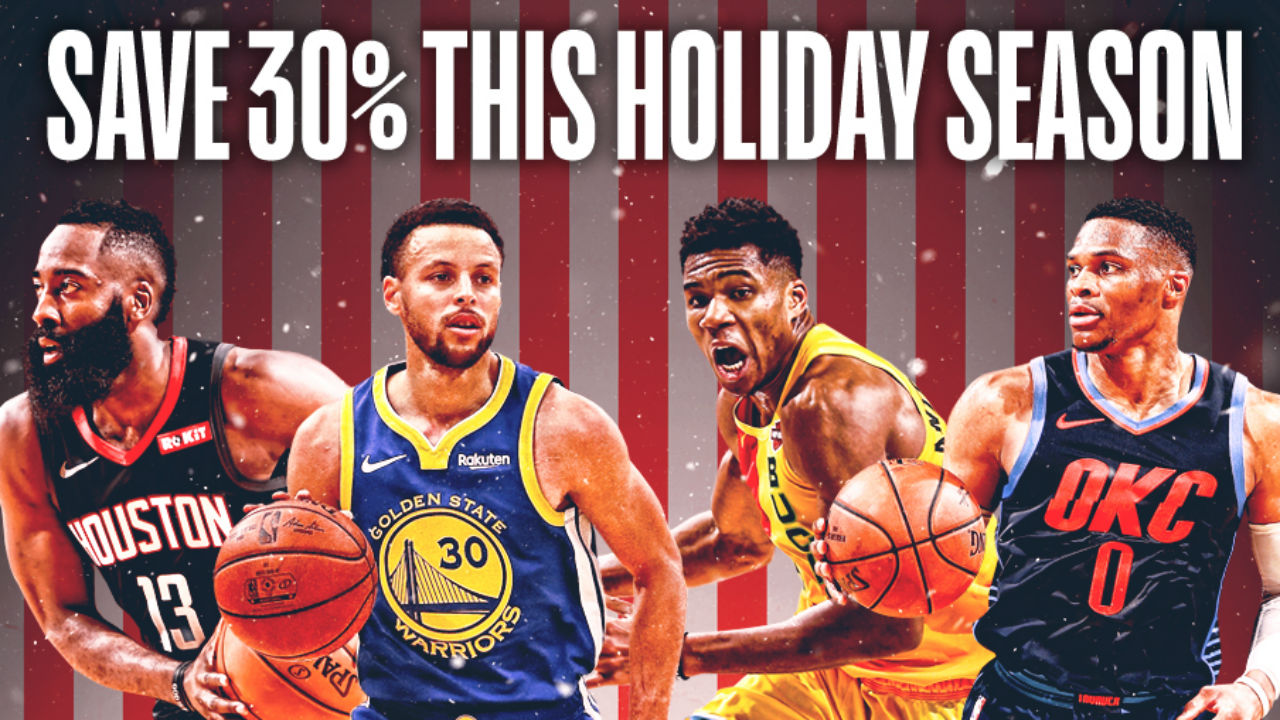 League Pass Holiday promotion