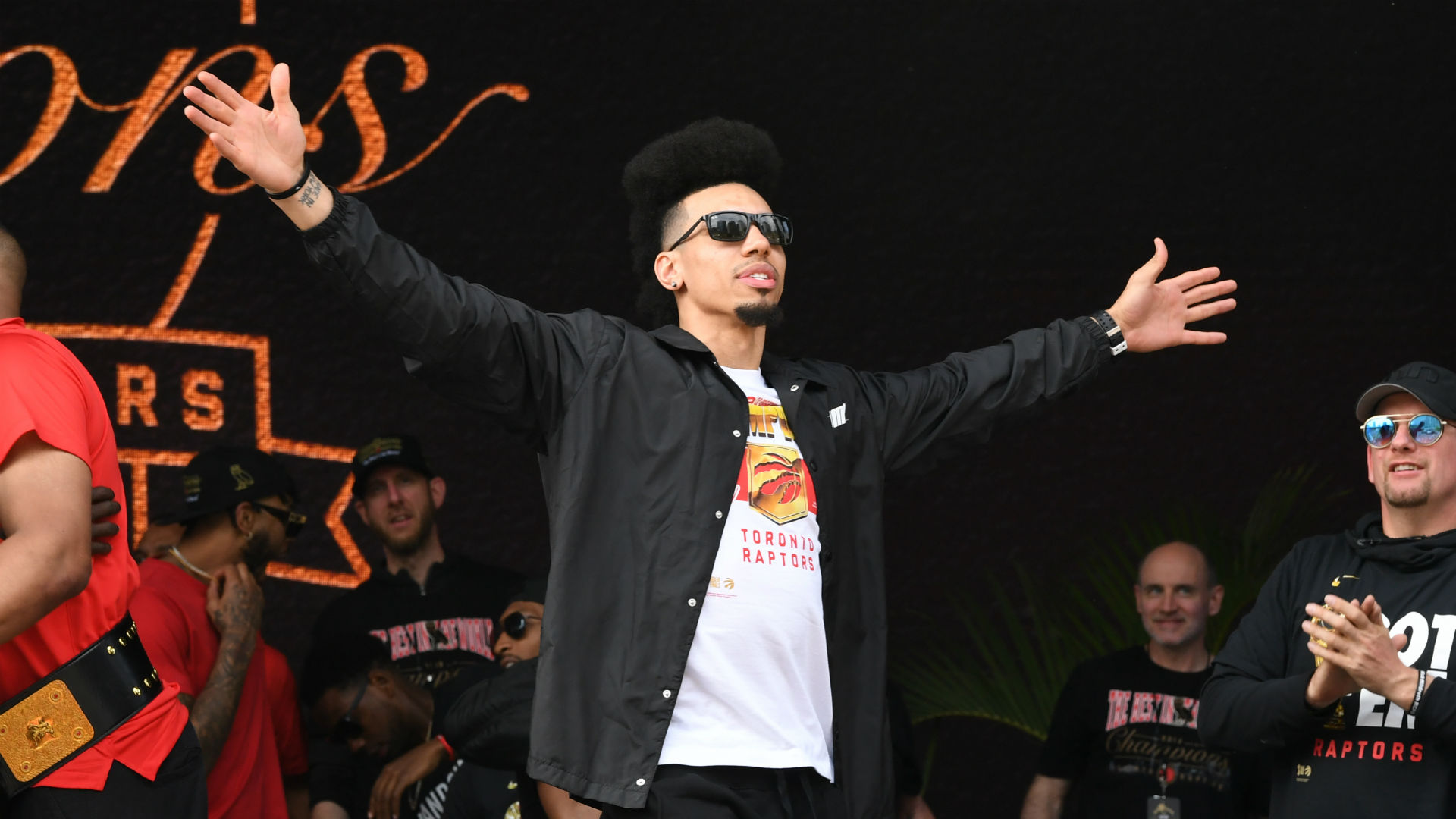 Danny Green explains decision to wait to receive Toronto ...