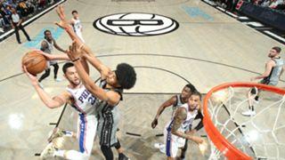 Ben Simmons vs. Nets