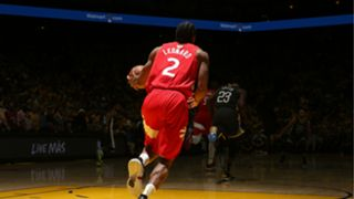 Kawhi Leonard scored over 30 points in each of the first two games of the NBA Finals at Oracle Arena.