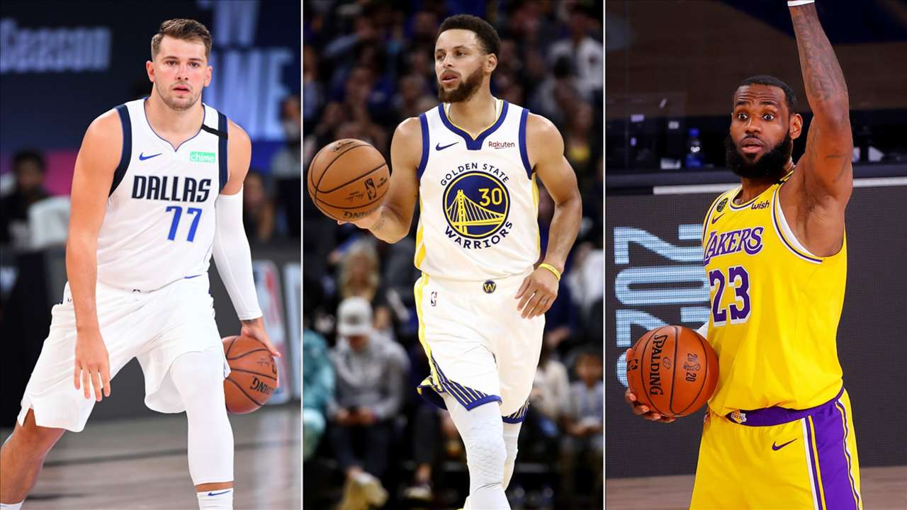 Luka Doncic Steph Curry LeBron James