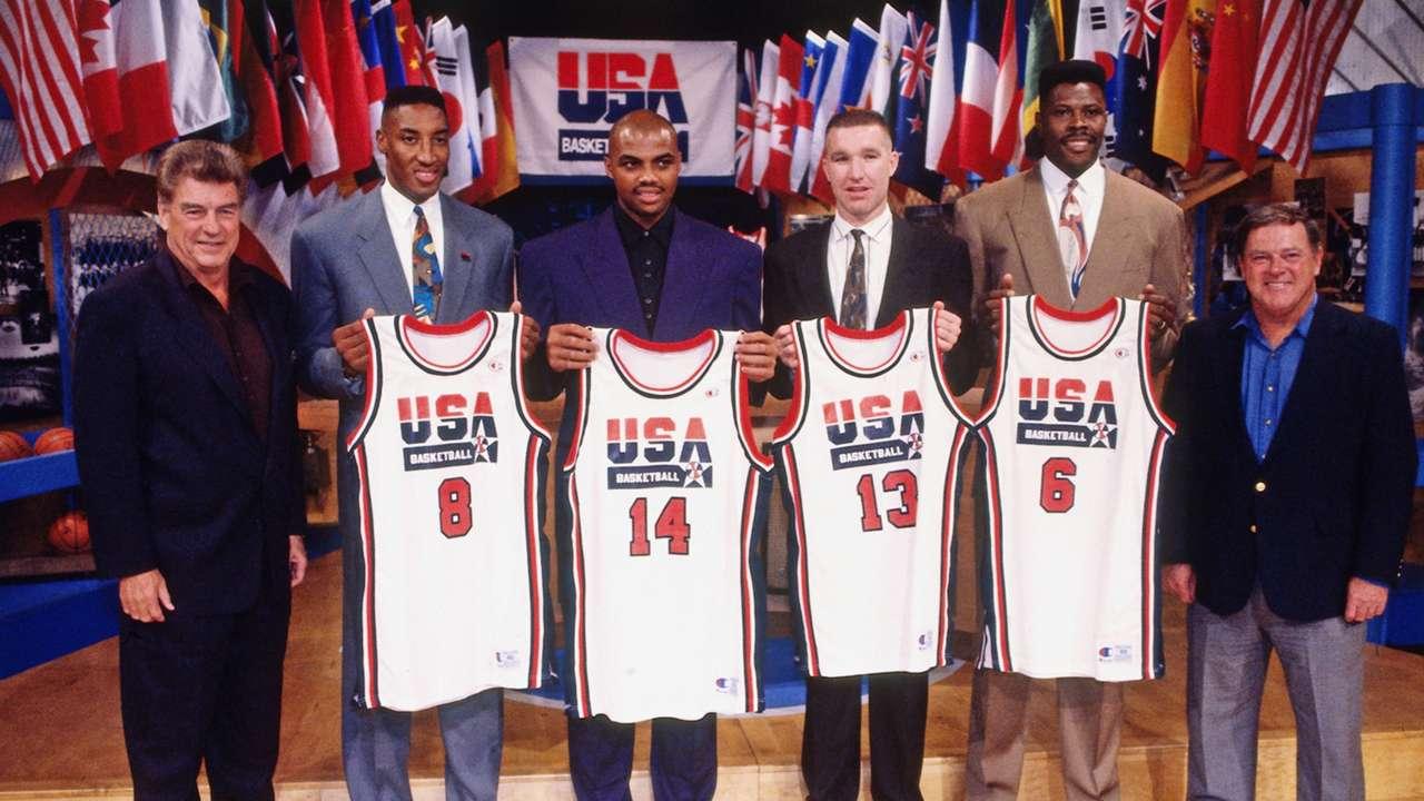 Team USA announce Dream Team
