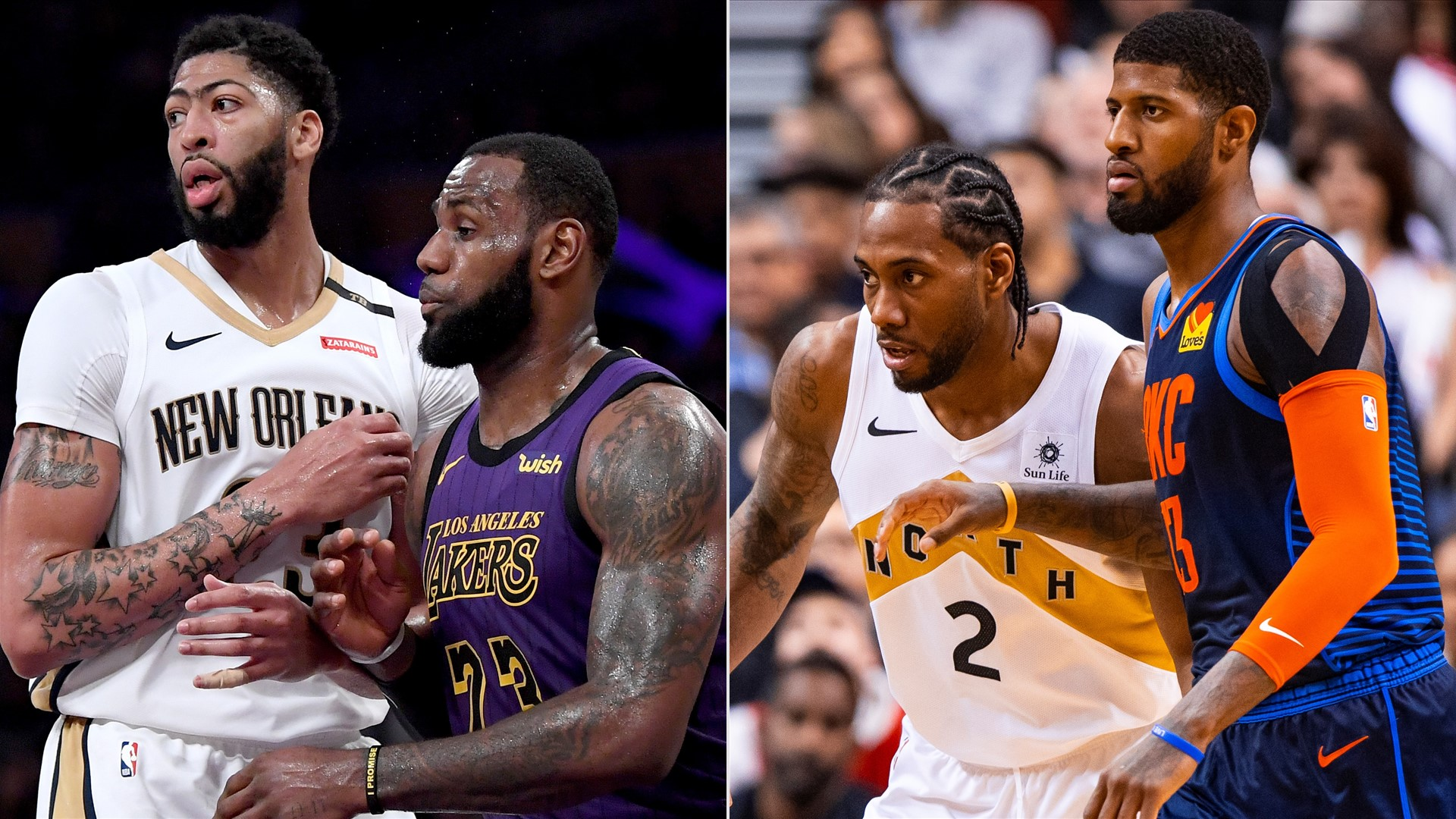 Are Lebron James And Anthony Davis Or Kawhi Leonard And Paul George The Best Duo In The Nba Nba Com India The Official Site Of The Nba