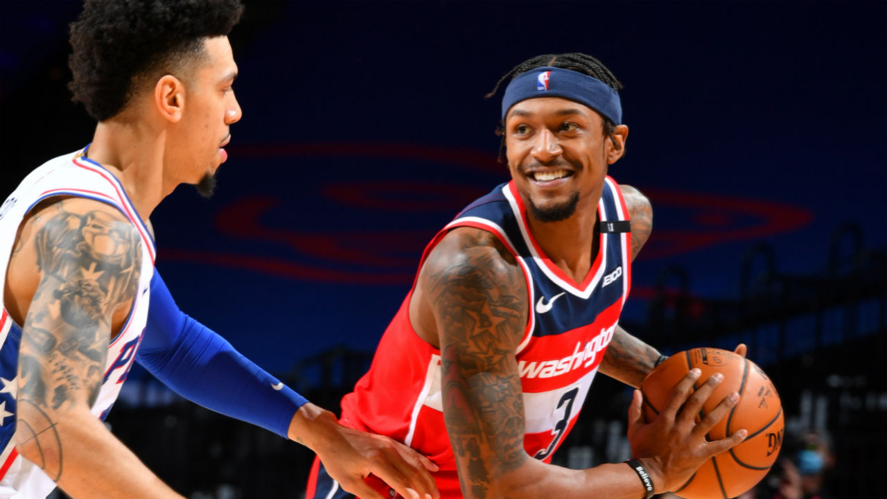 Five stats to know from Bradley Beal's career-high 60-point performance - NBA IN