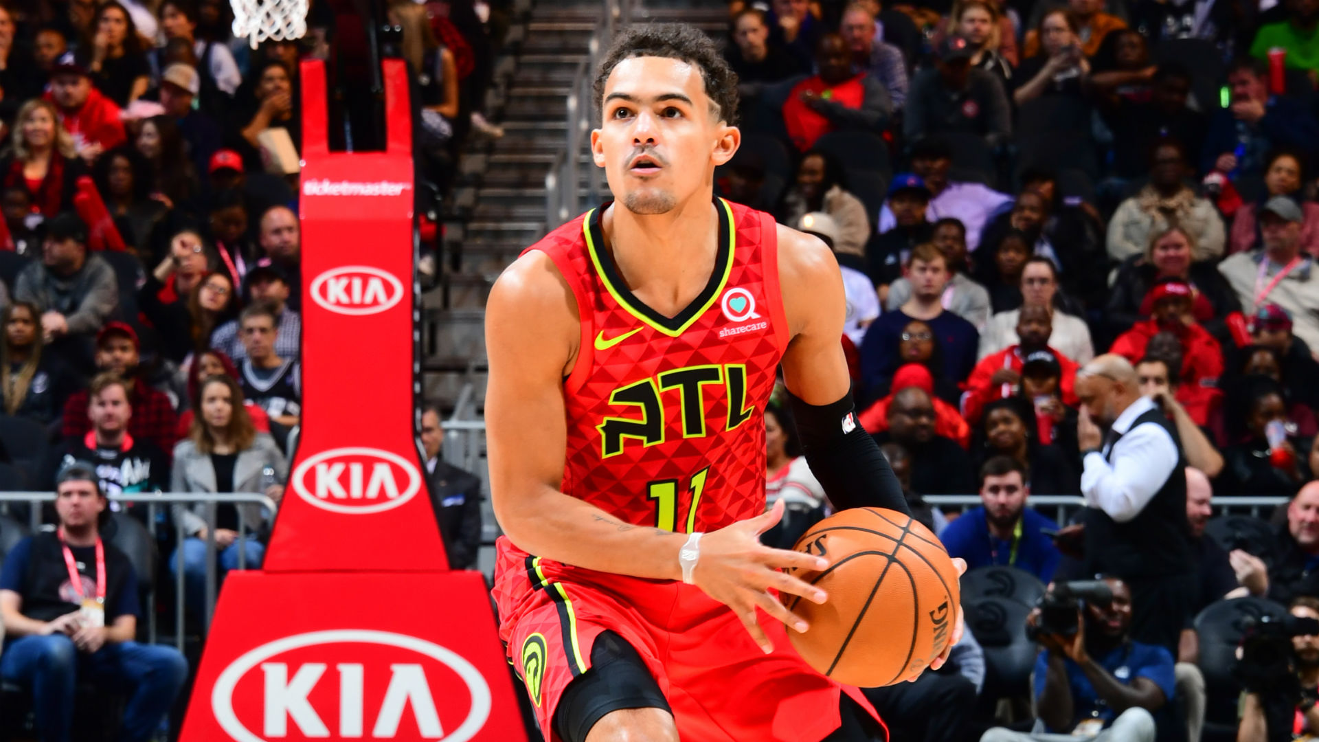 In His First Game Back From Injury Trae Young Showcases All