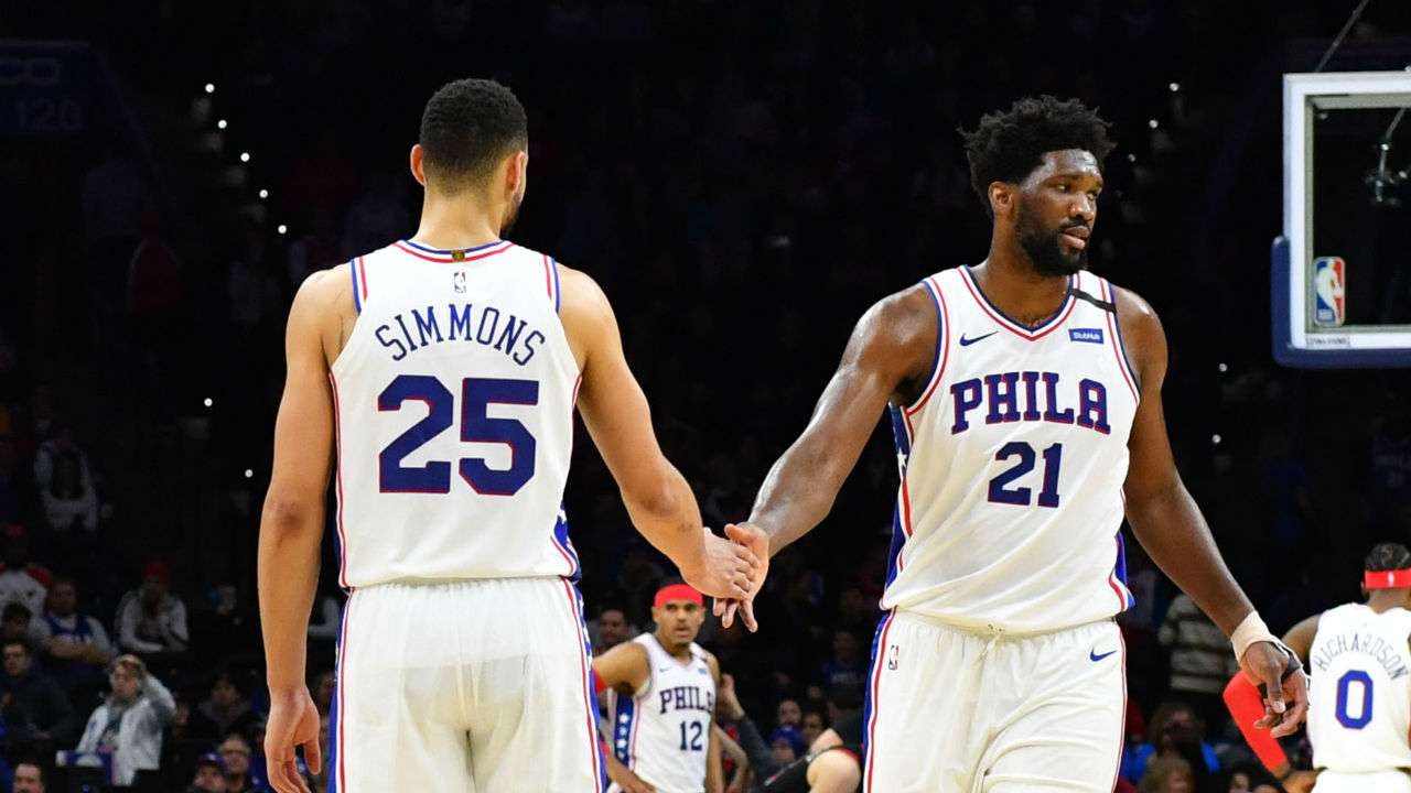 #Simmons #Embiid