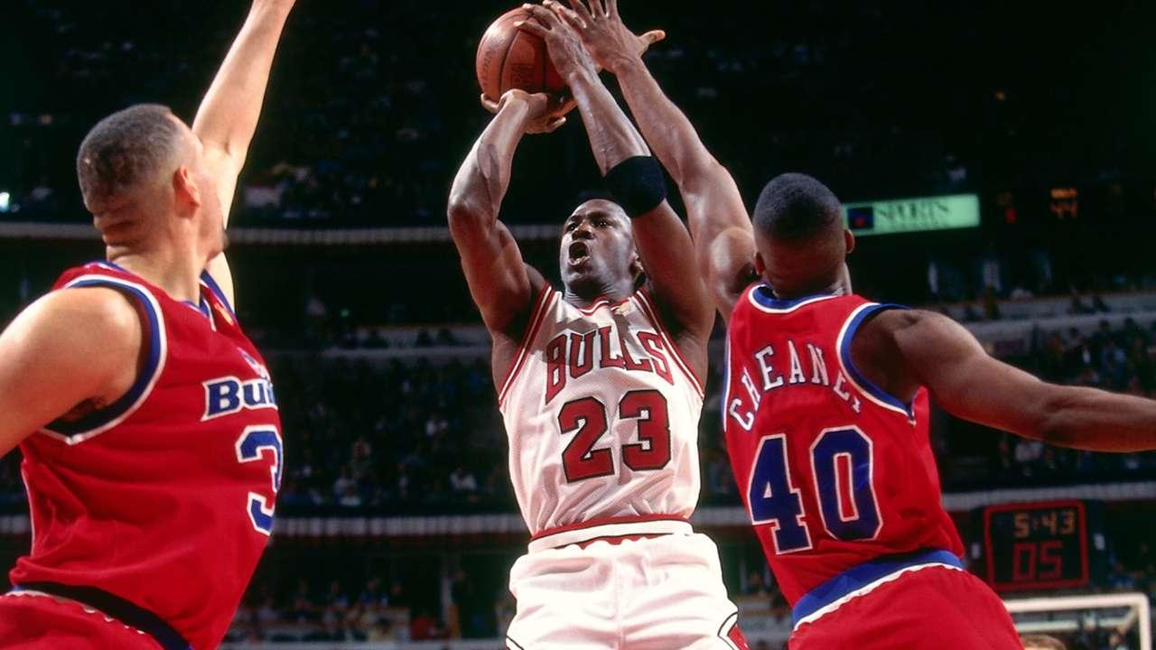 Michael Jordan vs. Washington Bullets