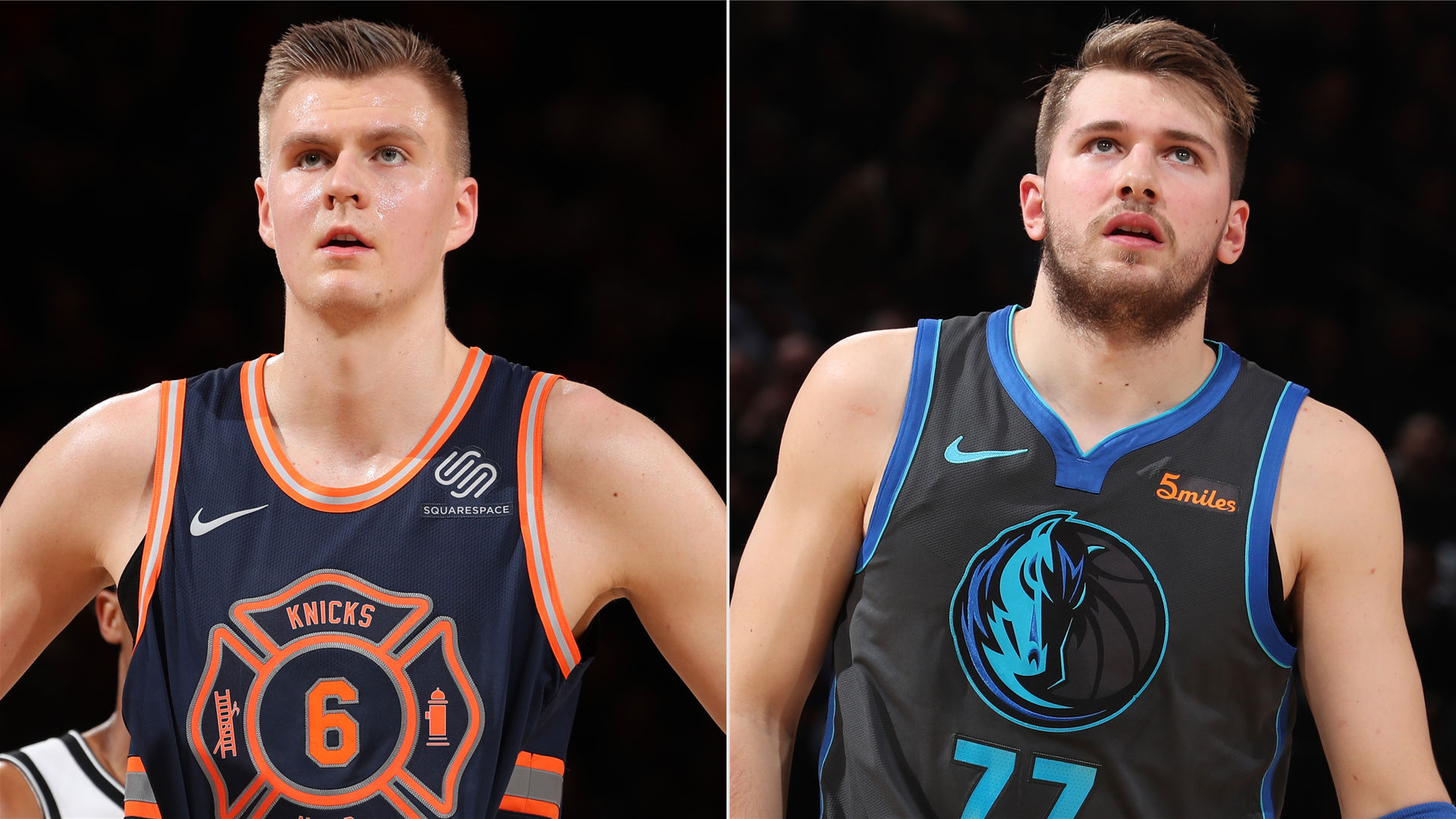 How does Kristaps Porzingis fit in with