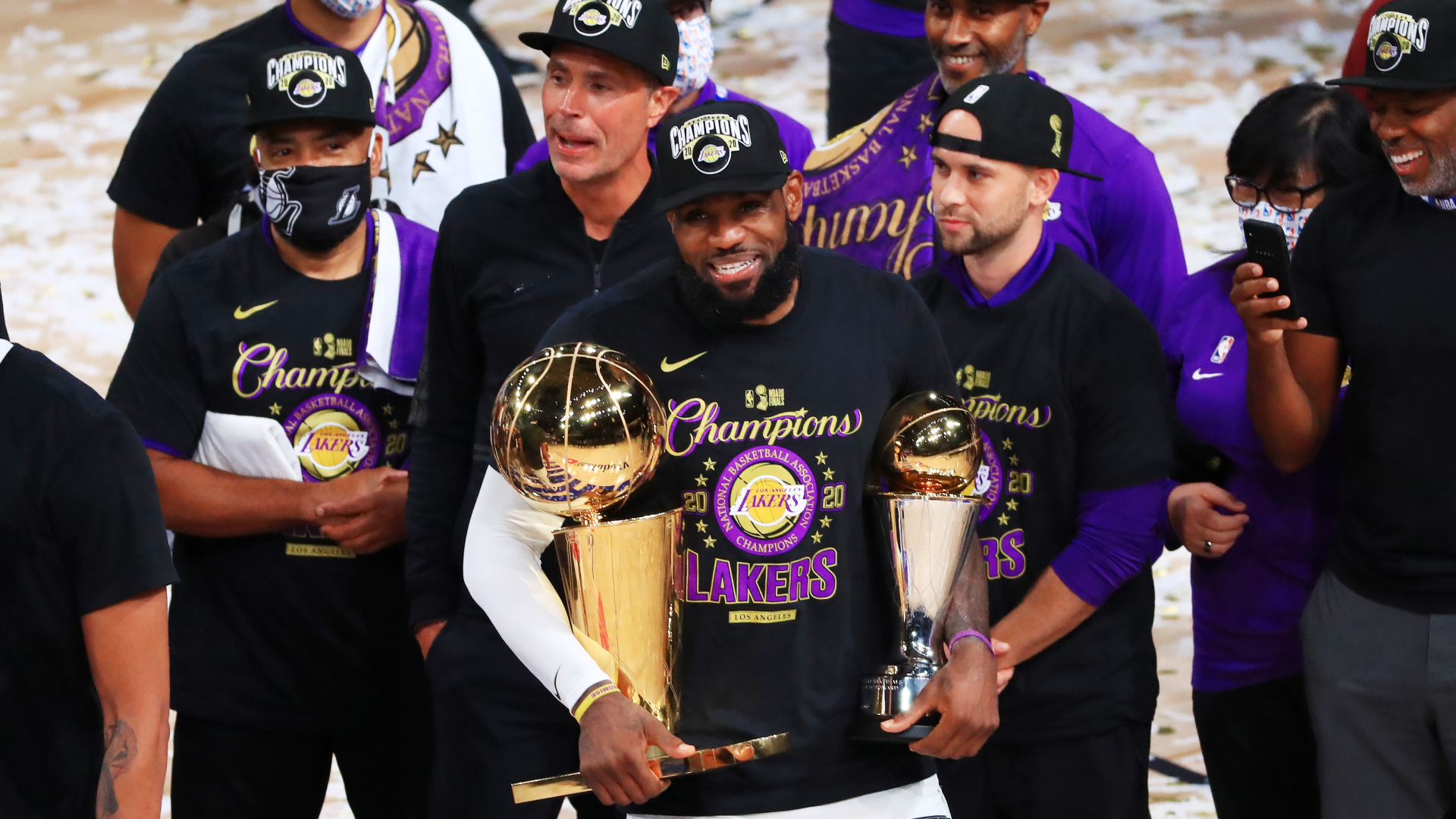 NBA Finals 2020: Los Angeles Lakers superstar LeBron James ...