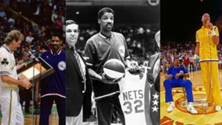 New Jersey Nets honor Julius Erving