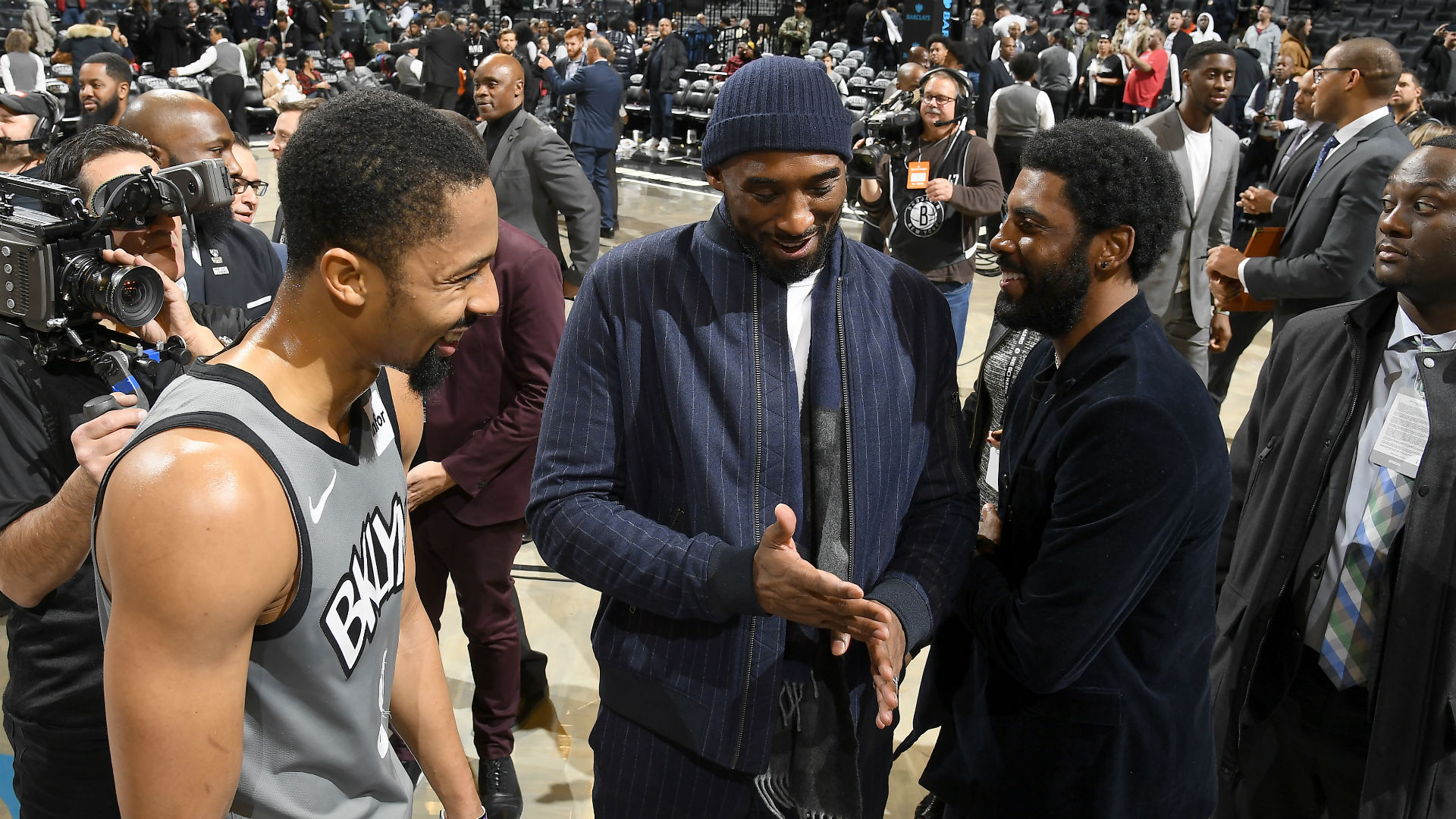 Report: Brooklyn Nets guard Spencer Dinwiddie changing jersey number out of respect for Kobe Bryant