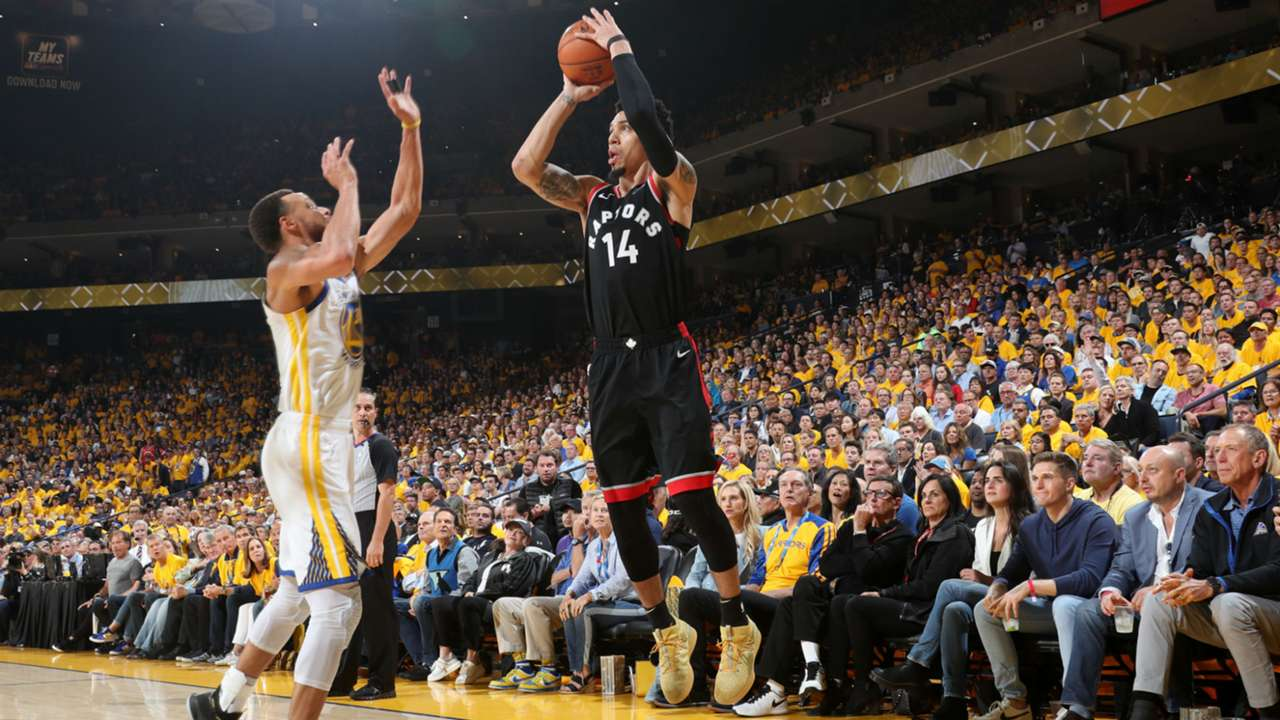 Danny Green shot 6-10 from beyond the 3-pt line in Game 3.