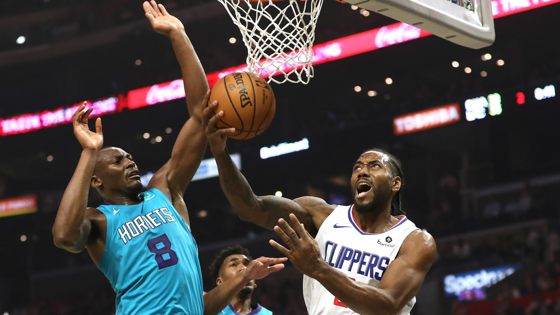 Clippers Hornets Kawhi Leonard