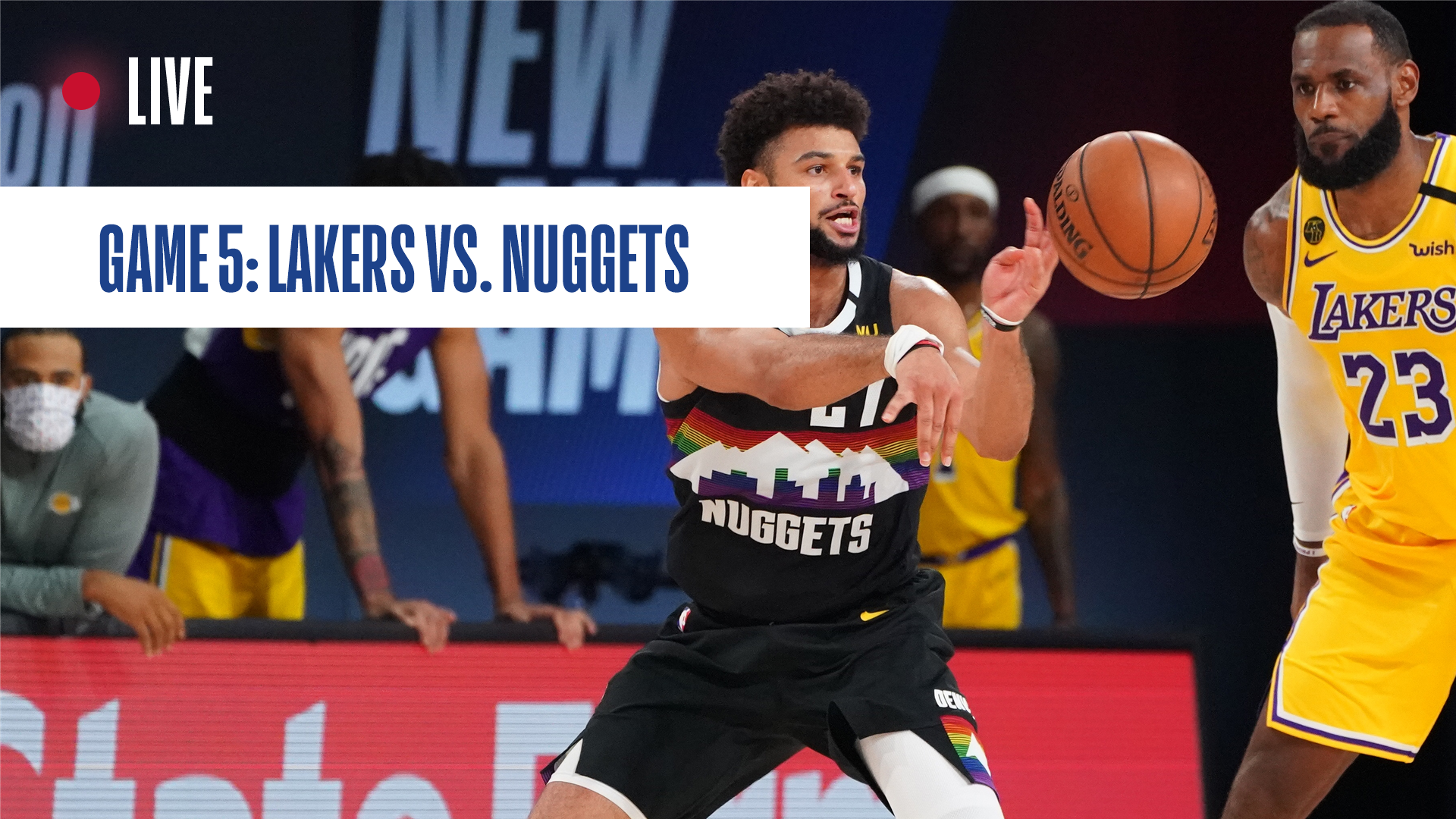 Los Angeles Lakers Vs Denver Nuggets Game 5 Score Updates News Stats And Highlights Nba Com India The Official Site Of The Nba