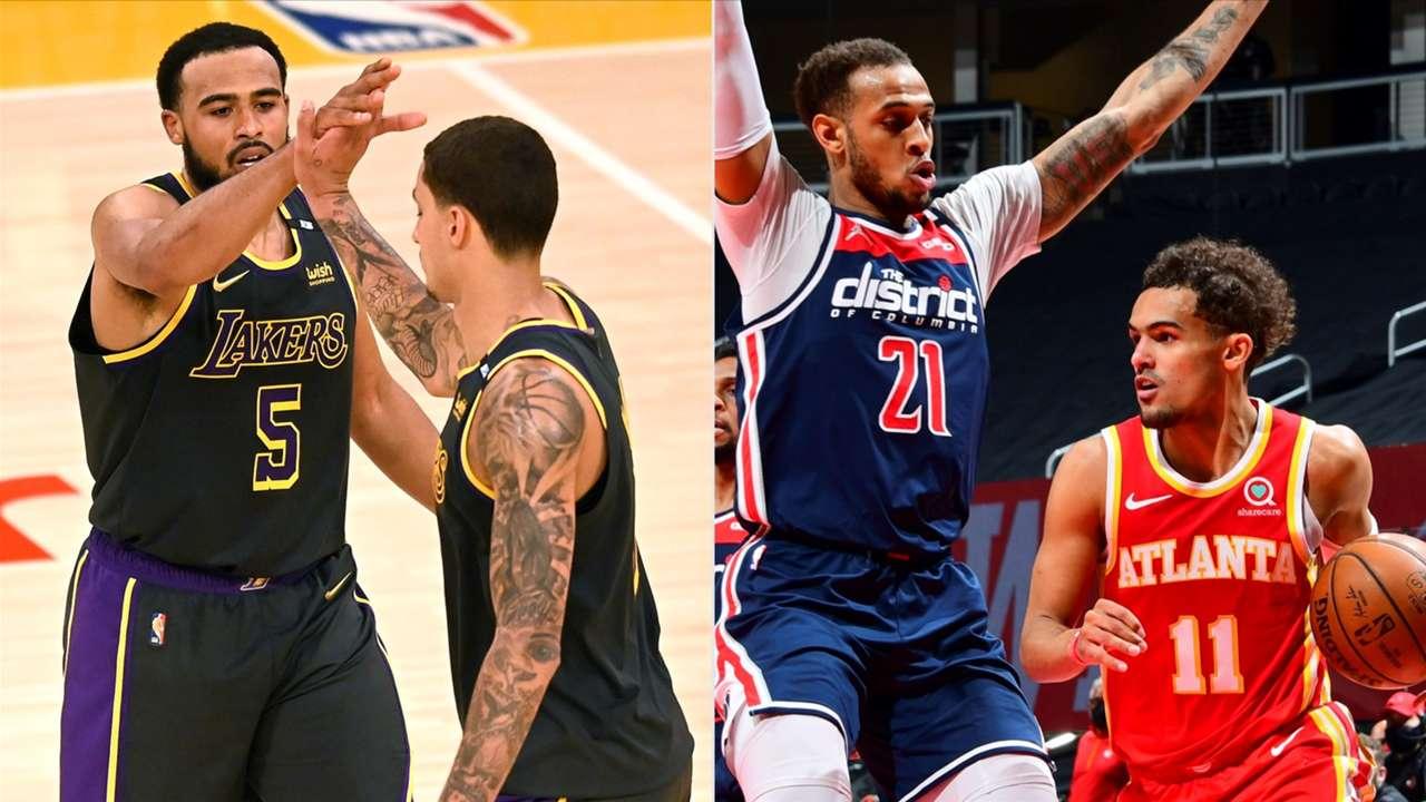 #Lakers #Hawks