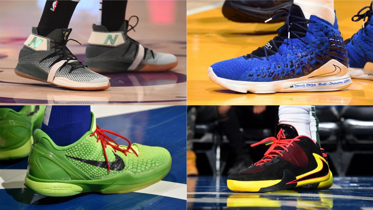 NBA sneakers on Christmas Day