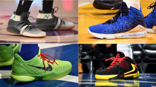NBA sneakers on Christmas Day
