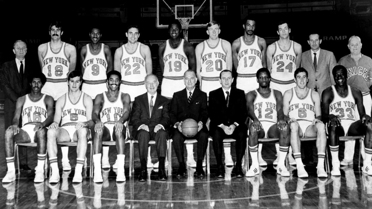 The 1969-70 NBA Champions - the New York Knicks