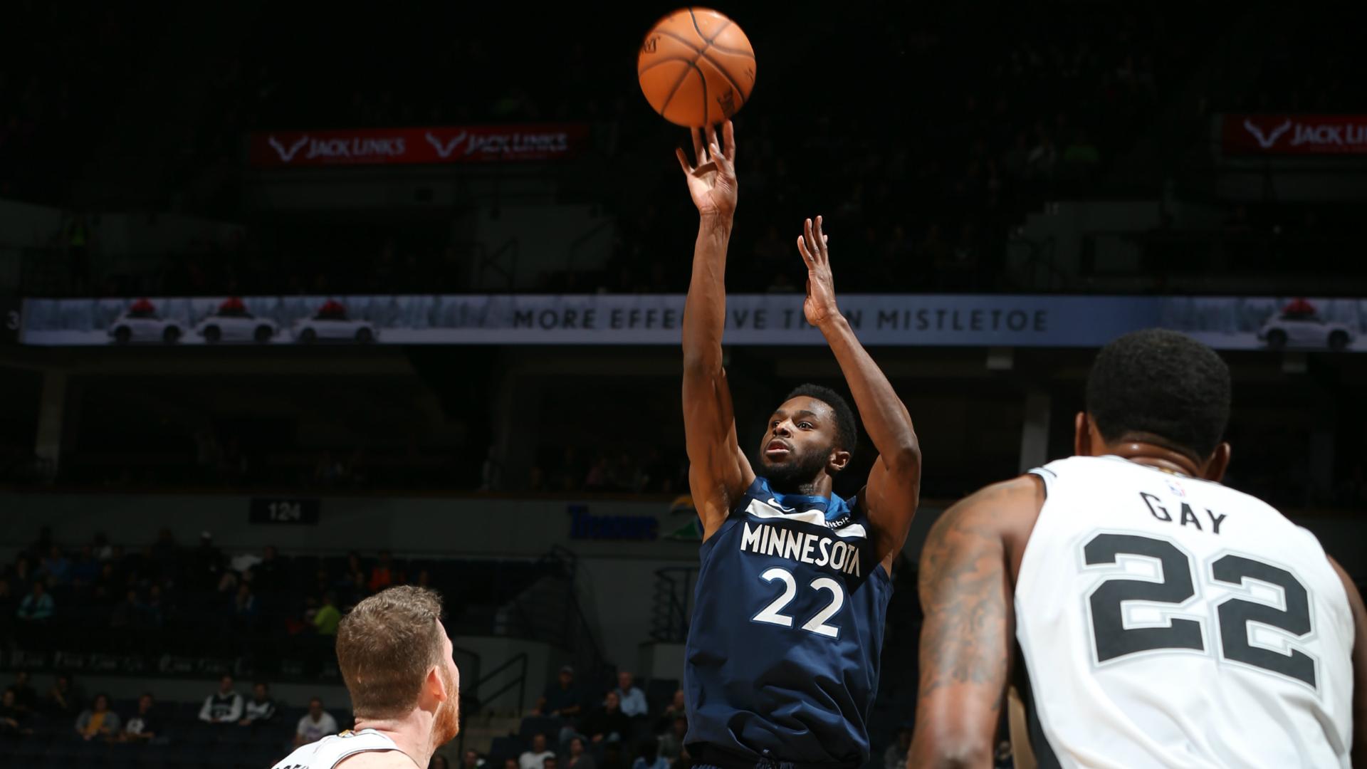Andrew Wiggins tumba a los San Antonio Spurs y alarga una racha estelar: 30 puntos - NBA ES