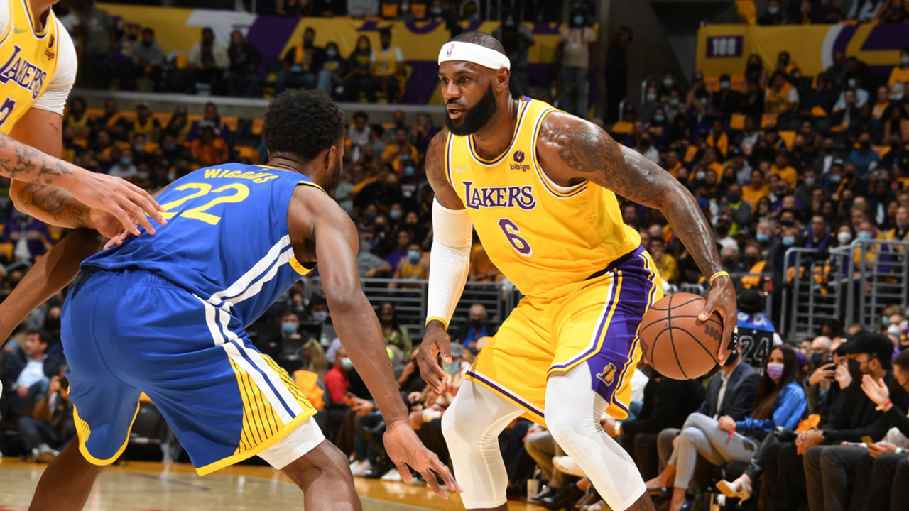 LeBron James (Los Angeles Lakers vs. Golden State Warriors)