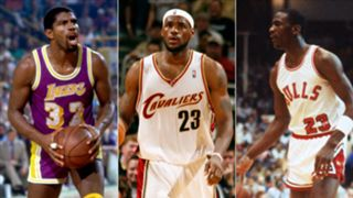 Magic, LeBron, and MJ