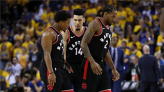 The Raptors never let the Warriors get closer than seven points in the second half of Game 3.