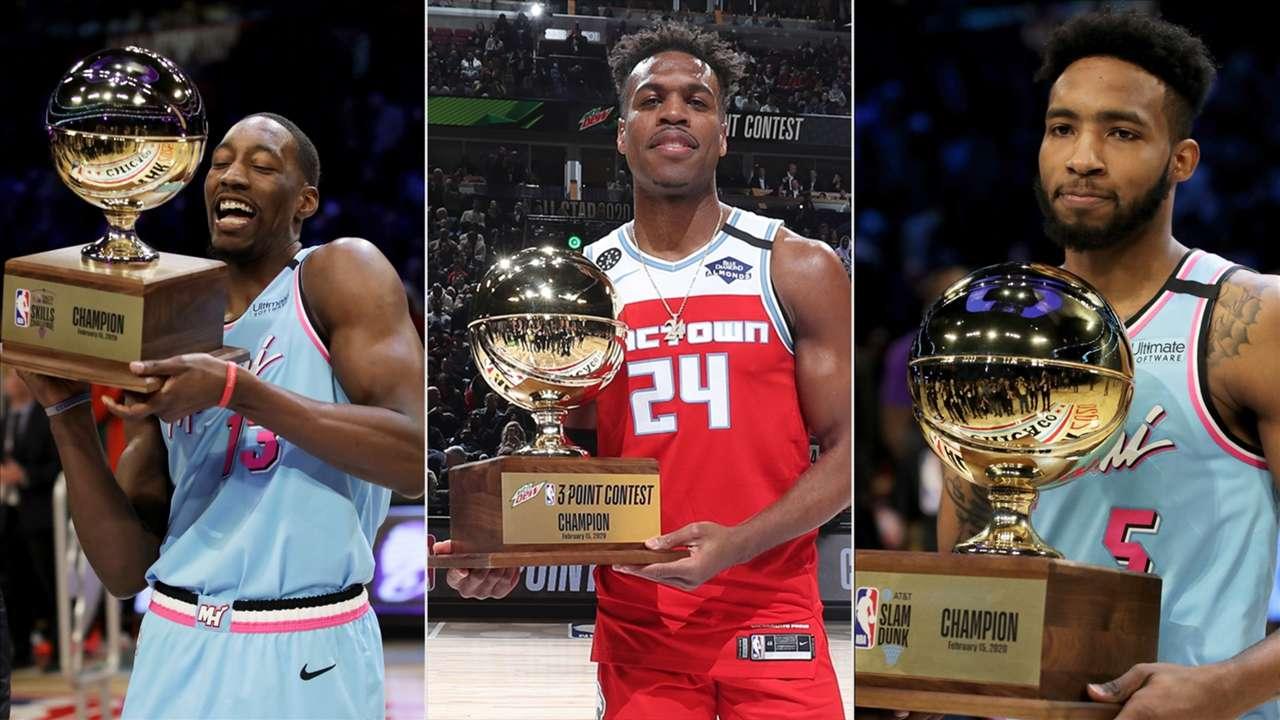 2020 All-Star Saturday Night winners