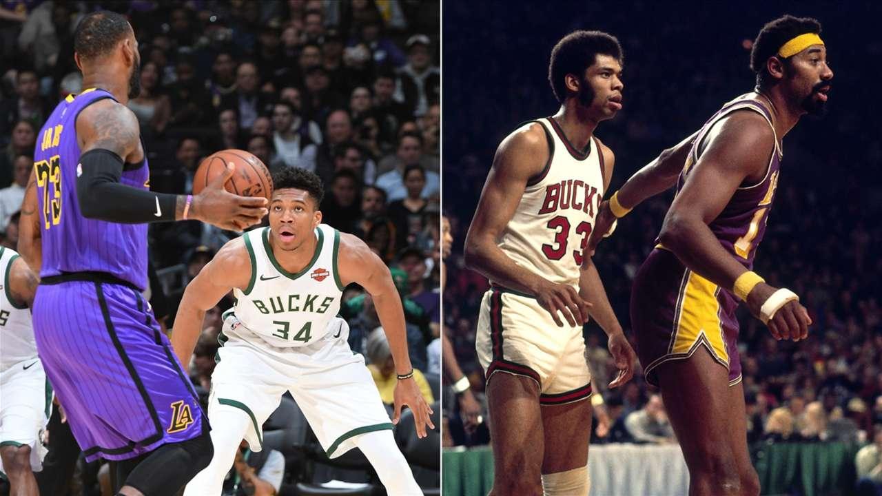 Los Angeles Lakers, Milwaukee Bucks