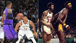 Los Angeles Lakers, Milwaukee Bucks