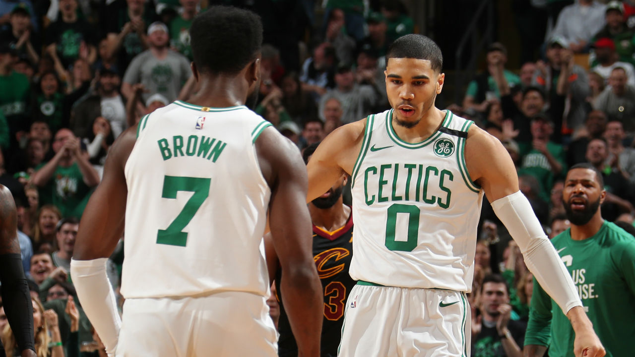 The Celtics have two potential stars in Brown and Tatum