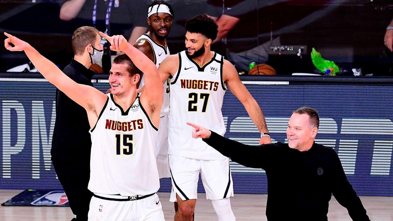 Denver Nuggets celebrate 3-1 comeback vs. LA Clippers
