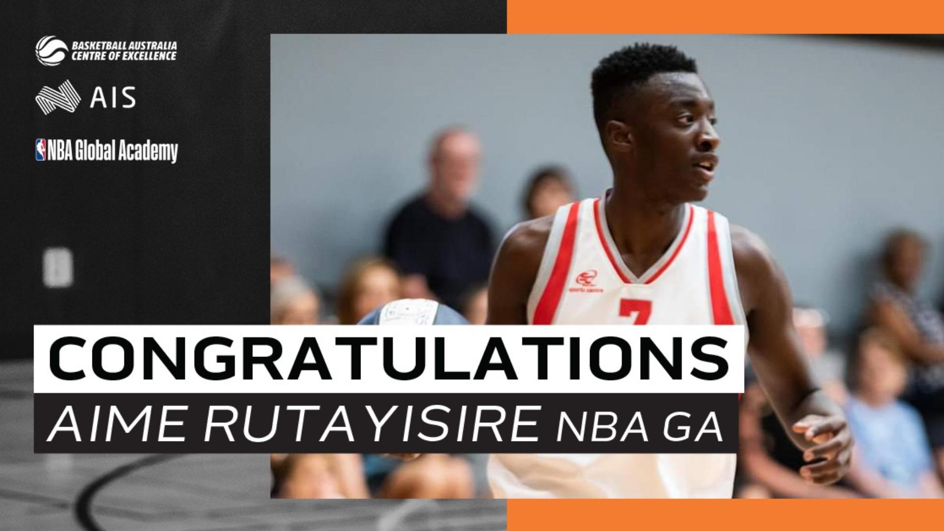 Australian Aime Rutayisire joins NBA Global Academy in Canberra