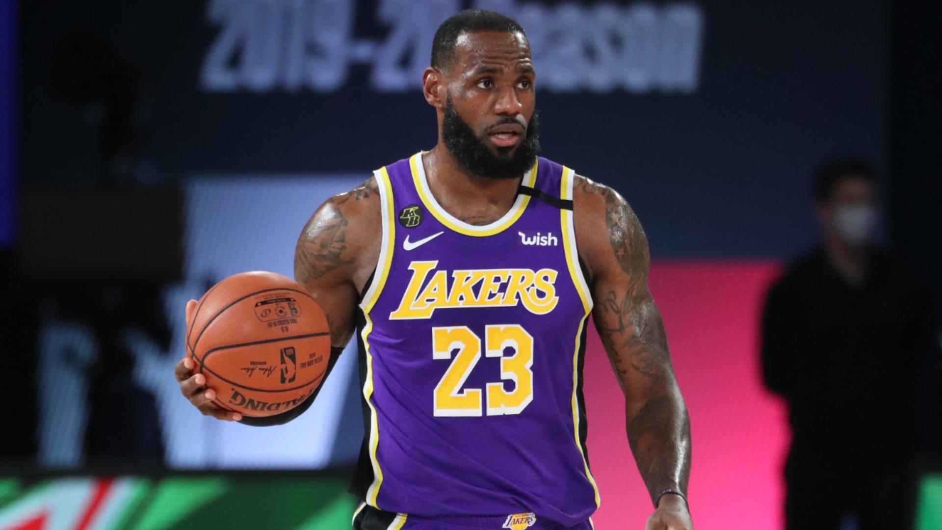 NBA Playoffs 2020: LeBron James' scoring barrage leads Los ...