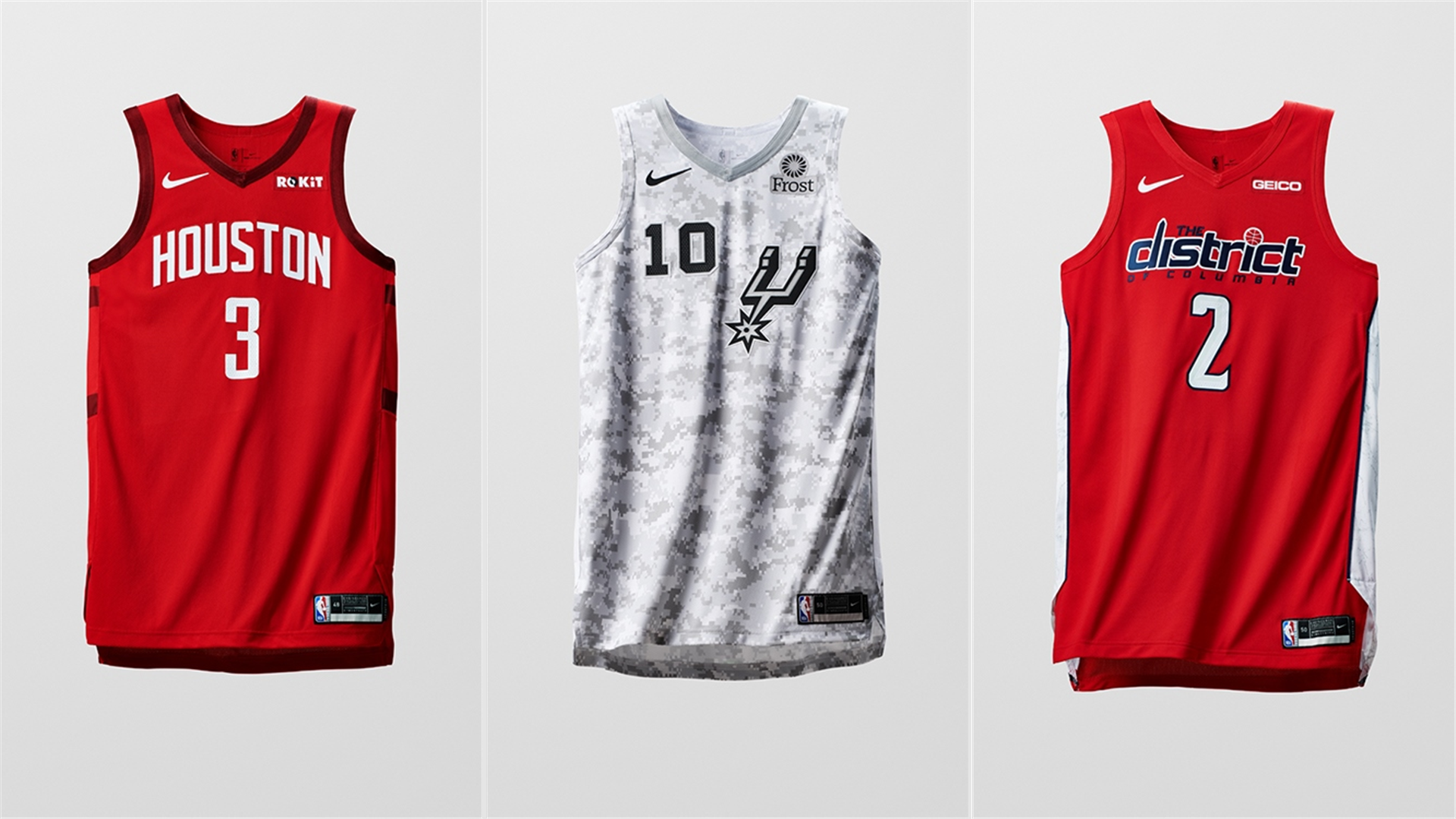 De alguna manera Ups Componer  Nike introduces NBA 'Earned' jerseys ahead of Christmas Day games | NBA.com  Canada | The official site of the NBA